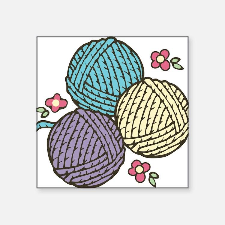 Yarn Trio Sticker