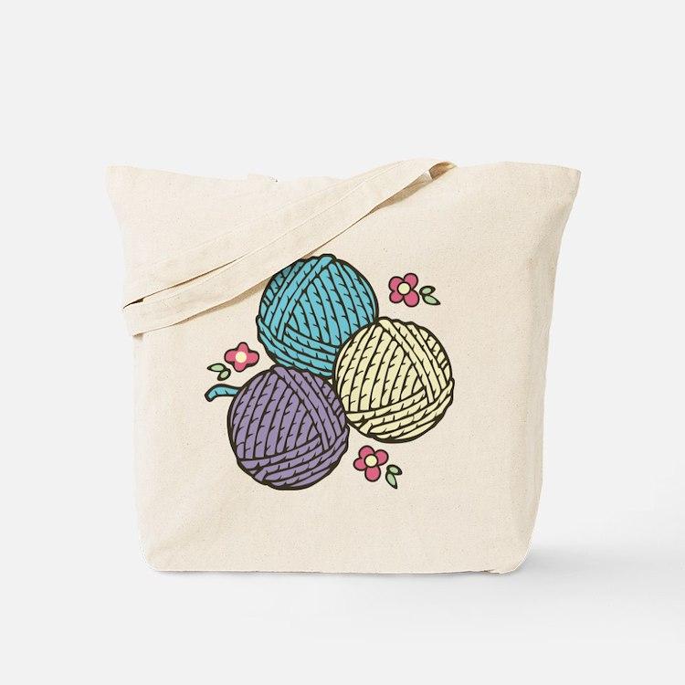 Yarn Trio Tote Bag