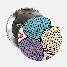 """Yarn Trio 2.25"""" Button"""