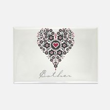 Love Esther Rectangle Magnet