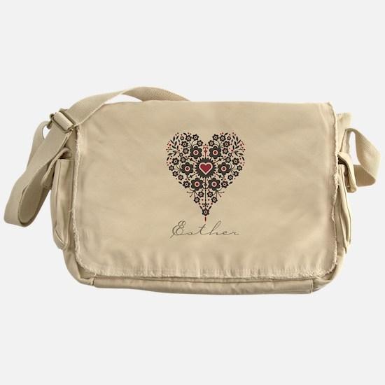 Love Esther Messenger Bag