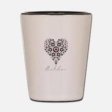 Love Esther Shot Glass