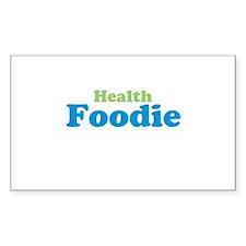 Health Foodie Decal