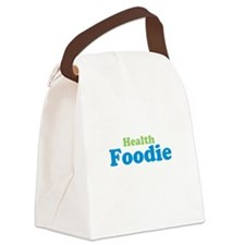 Health Foodie Canvas Lunch Bag