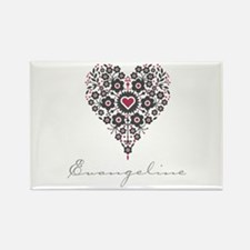 Love Evangeline Rectangle Magnet