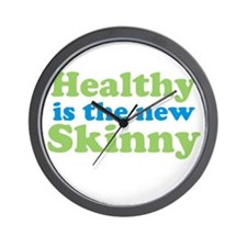 Healthy is the new Skinny Wall Clock