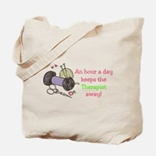 An Hour Tote Bag