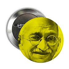 "Unique Gandhi 2.25"" Button"