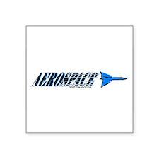 Aerospace Rectangle Sticker