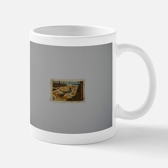 John Wesley Powell 1869 Expedition Stamp Mug