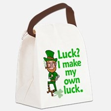 Funny Angry Lucky Irish Leprechaun Canvas Lunch Ba