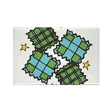 Quilting Squares Rectangle Magnet