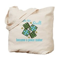 Learn to Quilt Tote Bag