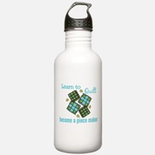 Learn to Quilt Water Bottle