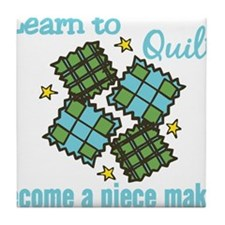 Learn to Quilt Tile Coaster