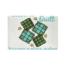 Learn to Quilt Rectangle Magnet