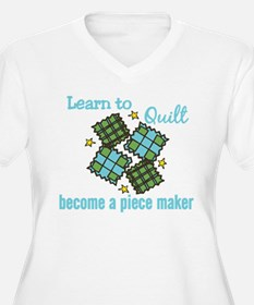 Learn to Quilt Plus Size T-Shirt