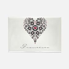 Love Francesca Rectangle Magnet