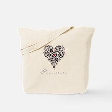 Love Francesca Tote Bag