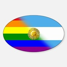 Argentina Pride - Oval Decal