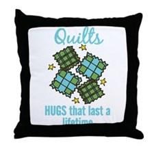 Hugs That Last Throw Pillow