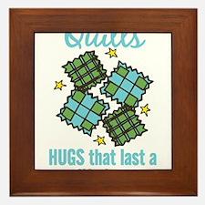 Hugs That Last Framed Tile