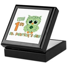 Babys first St. Patricks Day Keepsake Box