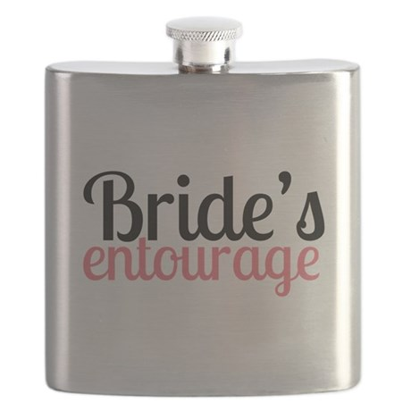 Brides Entourage Flask