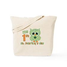Babys first St. Patricks Day Tote Bag