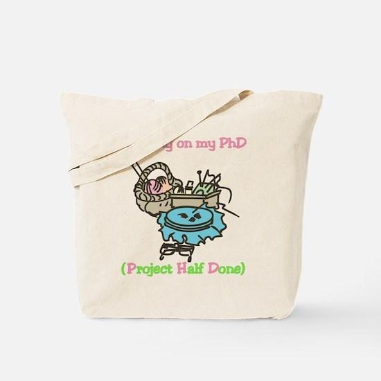 PhD Tote Bag
