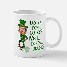 Funny Tough Lucky Drunk Leprechaun Mug