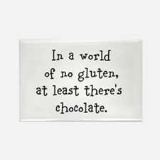 World of no gluten Rectangle Magnet