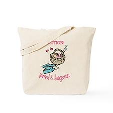 Yarned & Dangerous Tote Bag