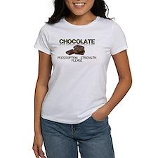 Chocolate Prescription Strength Please T-Shirt