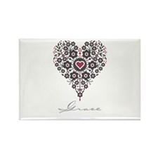 Love Grace Rectangle Magnet