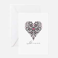 Love Grace Greeting Card