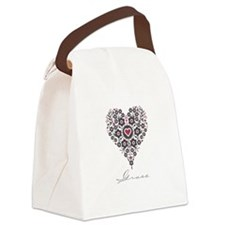 Love Grace Canvas Lunch Bag