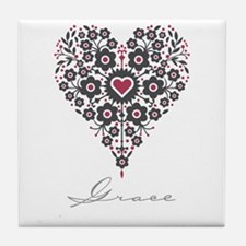 Love Grace Tile Coaster