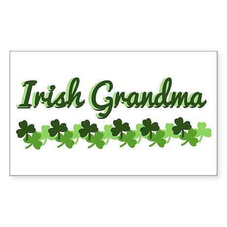 Irish Grandma Sticker