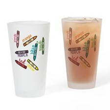Colors Drinking Glass
