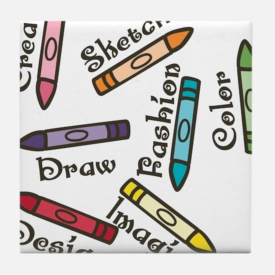 Draw Tile Coaster