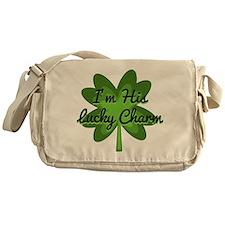 Im His Lucky Charm Messenger Bag