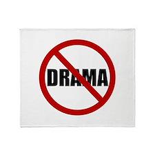 No Drama Throw Blanket