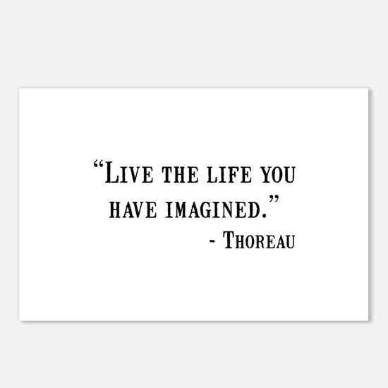 Thoreau Quote Postcards (Package of 8)