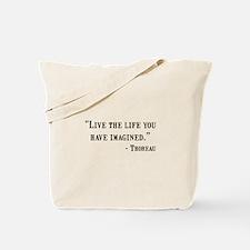 Thoreau Quote Tote Bag