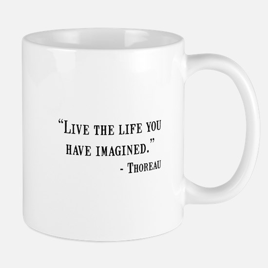 Thoreau Quote Mug