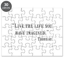 Thoreau Quote Puzzle