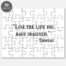 Thoreau Quote Puzzle