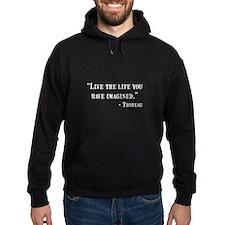 Thoreau Quote Hoodie