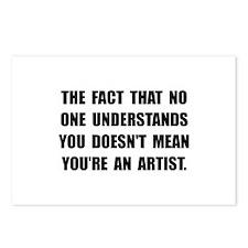 Understand Artist Postcards (Package of 8)